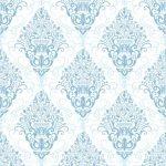 Blue Vintage Fabric